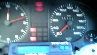 AUDI 80 B3 1.9 DIESEL 1990G. -14C COLD START (ХОЛОДНЫЙ ЗАПУСК)