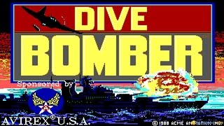 Dive Bomber gameplay (PC Game, 1988)