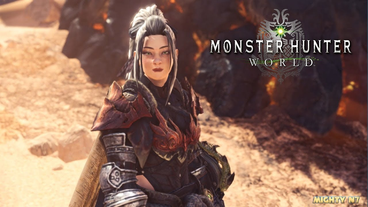 Monster Hunter World Pc Mods Odogaron Mask Remover Youtube
