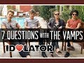 Capture de la vidéo Interview: 7 Questions With The Vamps