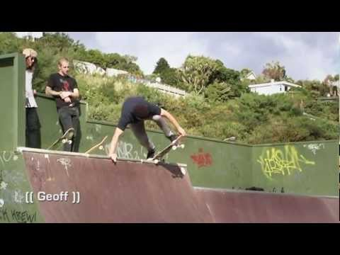 Strange Life Skateboards - Chris Wood - Karori Mini Ramp, Wellington, NZ