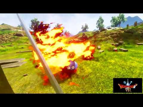 VR ZONE「ドラゴンクエストVR」プレーヤー視点のプレイムービー