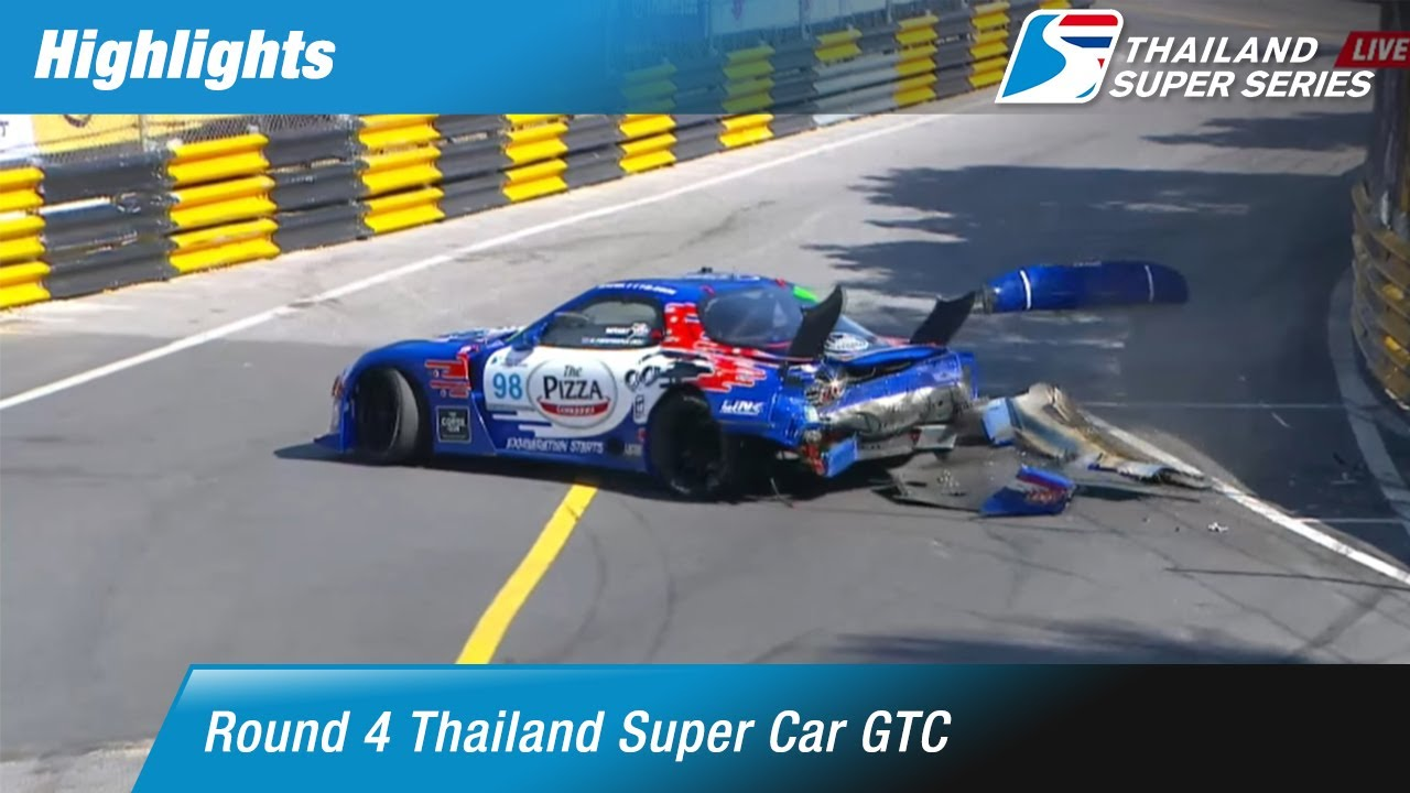 Highlights Thailand Super Car GTC : Round 4 @Bangsaen Street Circuit,Chonburi