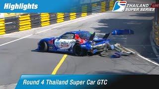 Highlights Thailand Super Car GTC : Round 4 @Bangsaen Street Circuit,Chonburi