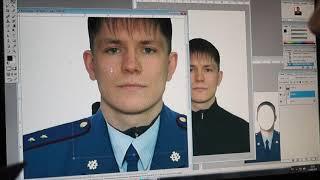 Фото на документы подставляем форму. Photoshop 8.0