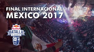 Final Internacional 2017 - Red Bull Batalla de los Gallos thumbnail