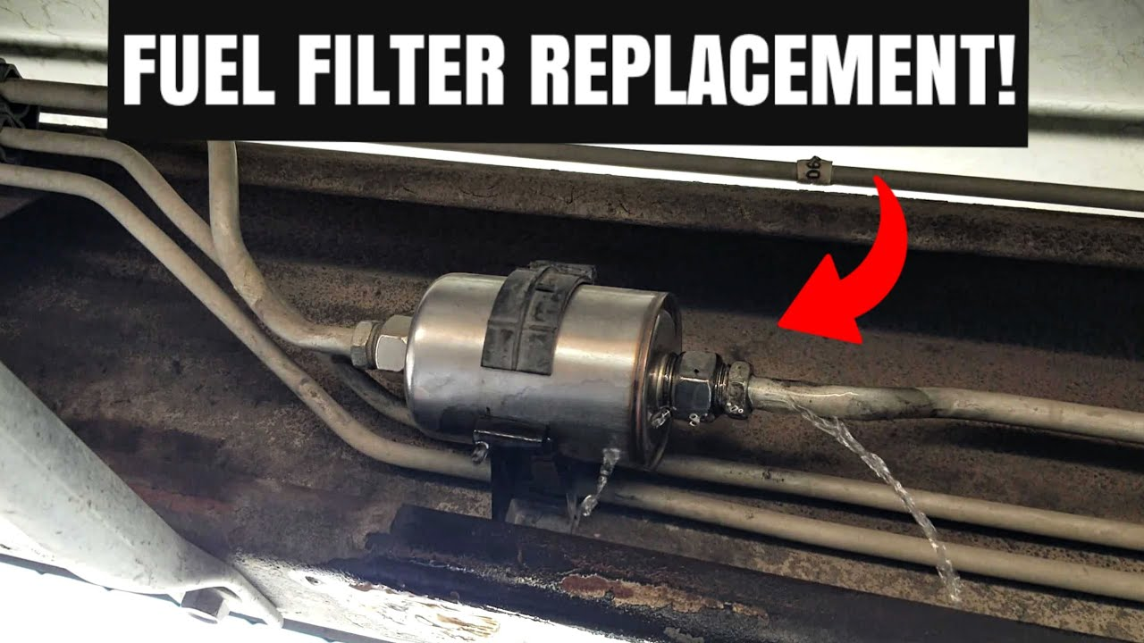 how to replace a fuel filter on a gmc sierra u0026 chevy silveradohow to replace [ 1280 x 720 Pixel ]