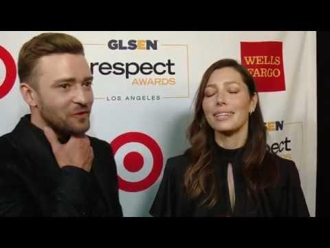 GLSEN Awards 2015 / JUSTIN TIMBERLINE + JESSICA BIEL
