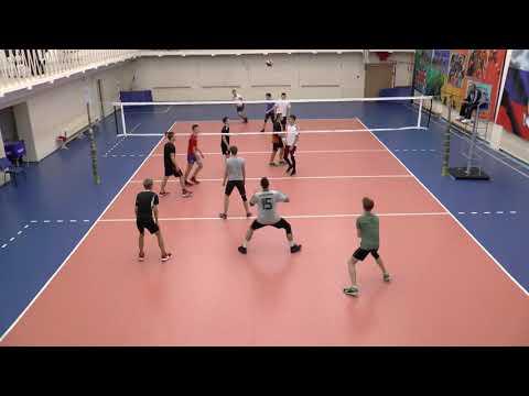 Волейбол. Тренировка. Спортшкола