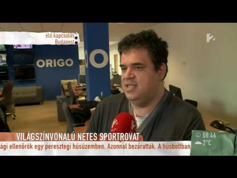 Megújult az Origo sportrovata - tv2.hu/mokka