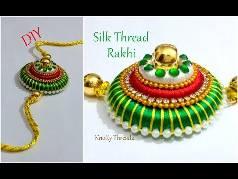 raksha-bandhan-special-|-how-to-make-silk-thread-rakhi-at-home-|-tutorial-|-www.knottythreadz.com