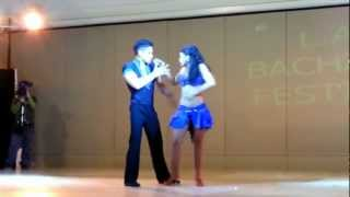Kathy Reyes And Jonathen Are The 1st Place Winner In The $5000 Bachata Competition