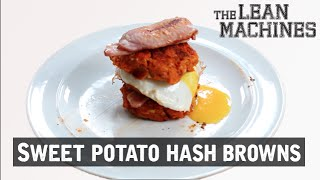 Healthy Sweet Potato Hash Browns #ad
