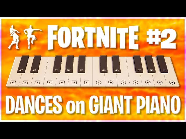Remaking Fortnite Emote Songs With The In Game Piano Takes Skill