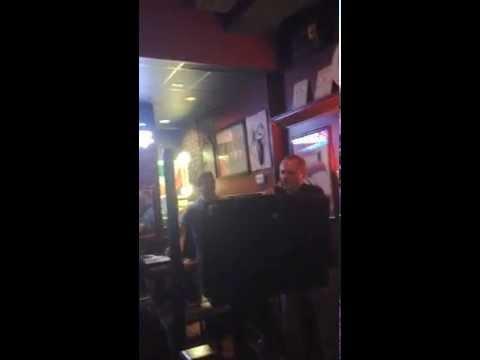Paulie's birthday karaoke