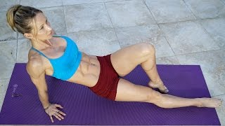 5 Minute Fat Burning Workout #117