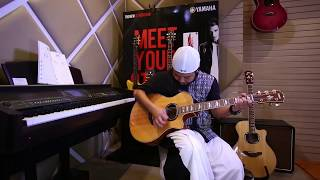 "Kursus Acoustics Guitar (Part 1) x Is ""Payung Teduh"""