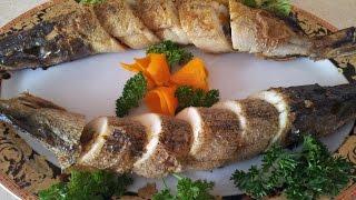 Рыба с овощами запеченная в духовке. Щука с овощами и грибами(Обожаю щуку. Все любят ее фаршировать, а вот мне лично такой вариант намного вкуснее и сочнее. Вот решила..., 2014-11-03T20:02:34.000Z)