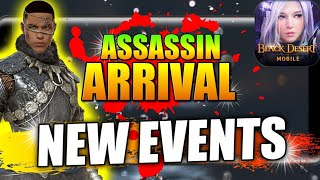 Hashashin(Assassin) Is coming!  Events overview + Weekly Cash Shop Review, Black Desert Mobile