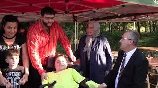 Recep İvedik Karacabey'de filim setinde engelli hayranıyla buluştu