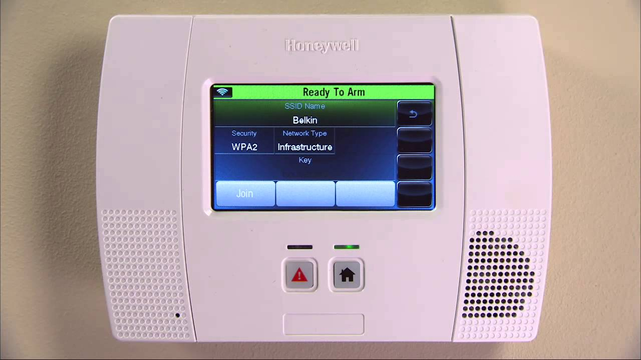 Good Honeywell LYNX L5200/L7000 : How To Setup Wi Fi On Your Wireless Security  System   YouTube