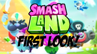 *NEW* Supercell Smash Land Game First Look!