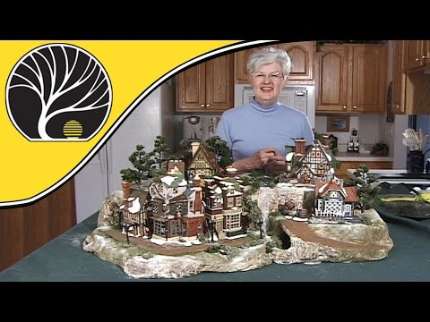 Build A Display For Collectible Houses - Model Scenery | Woodland Scenics
