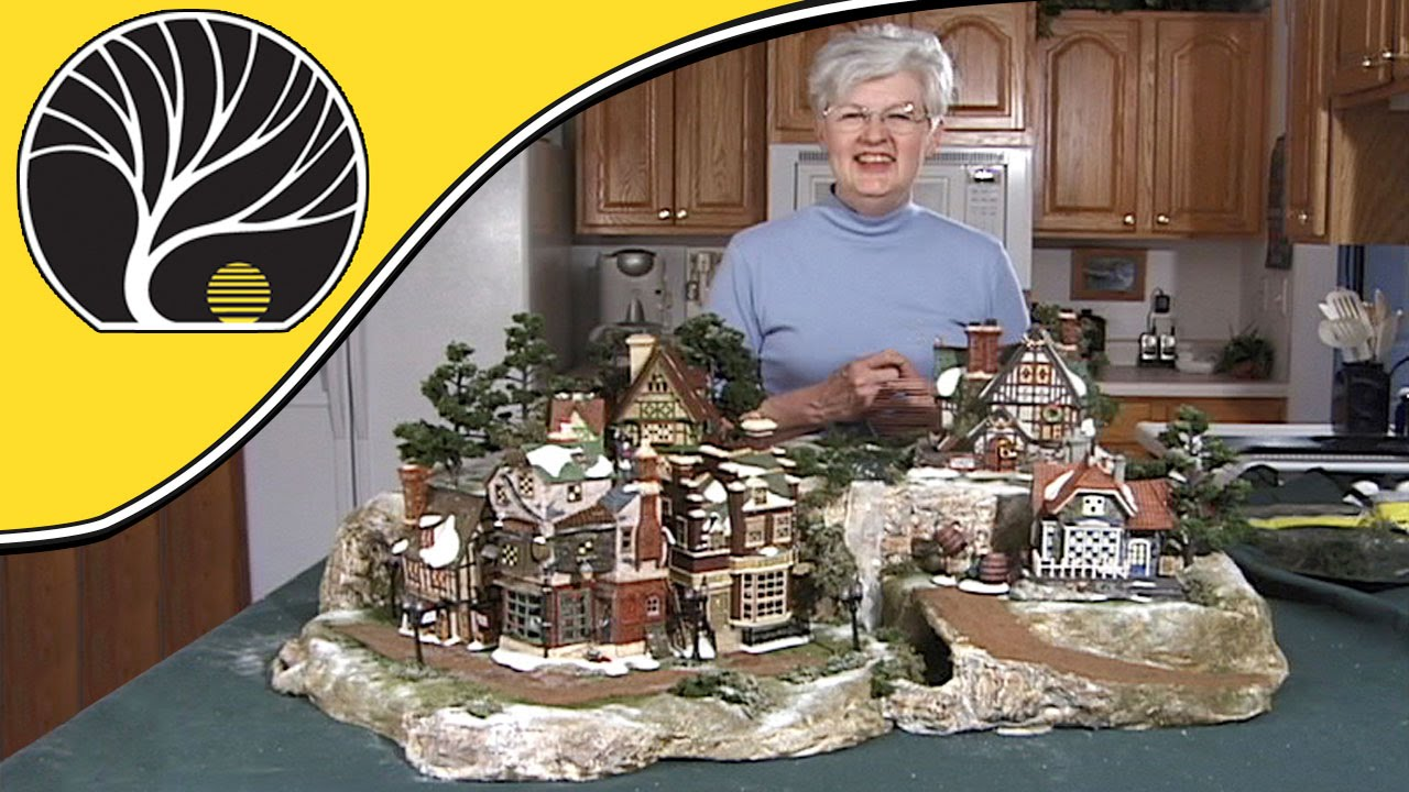 build a display for collectible houses model scenery woodland
