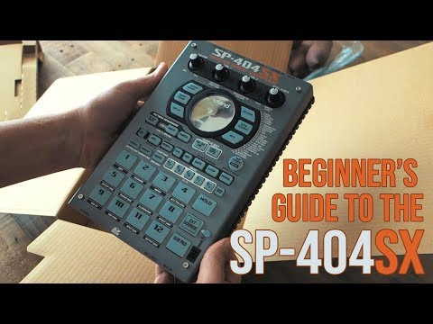 SP-404SX    Beginner's guide    Table of contents included