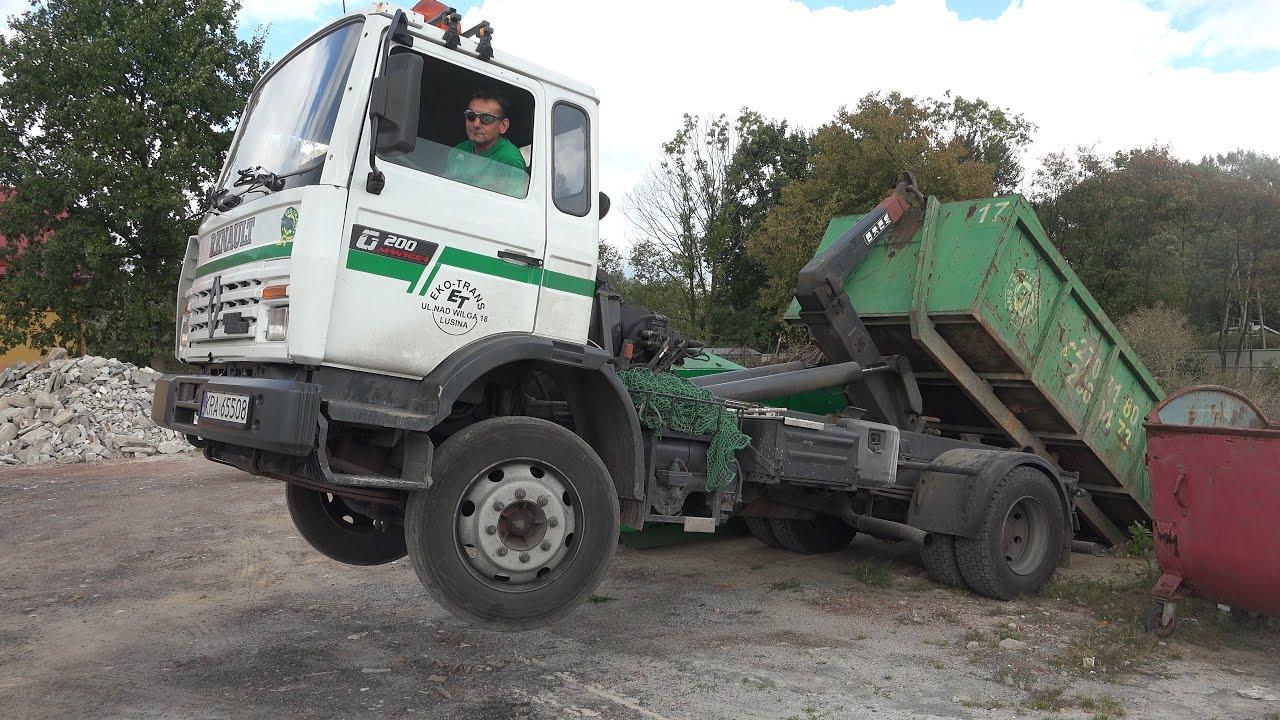Wuko Hooklift Truck Eko Trans In Krakow Youtube