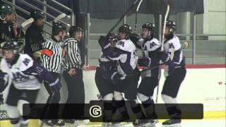 CTN SPORTS 2016 - Huron @ Pioneer High School Ice Hockey, Feb. 17th