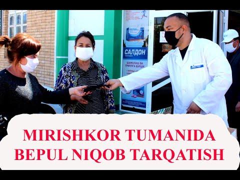 MIRISHKOR TUMANIDA NIQOB TARQATISH