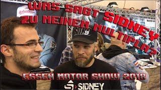 Was hält Sidney von meinem Multipla? Interview mit SIIND auf der Essen Motor Show 2018
