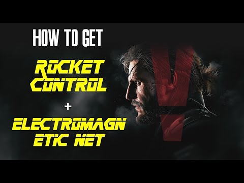 MGSV: Electromagnetic Net + Rocket Control Specialist + Foxhound Rank
