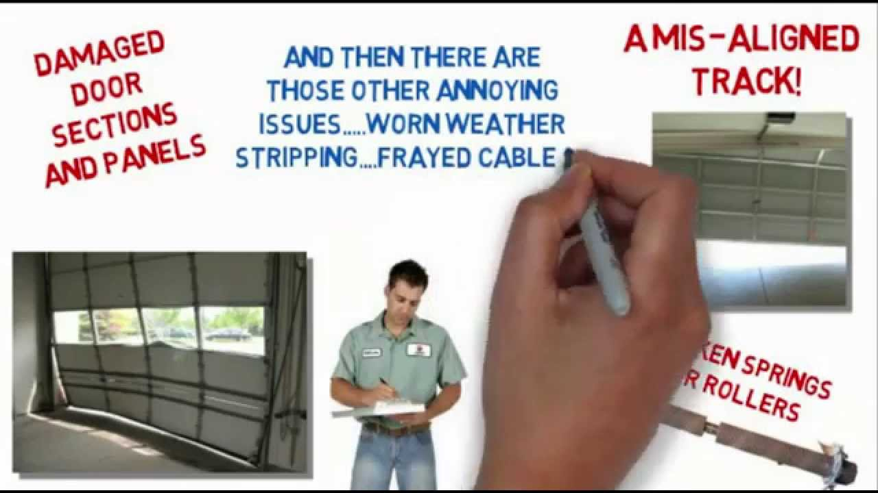 Garage Door Repairs Melbourne Roller Door Repairs Youtube