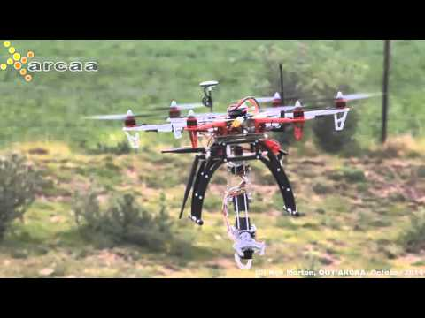 Mobile Manipulator UAV : Robotic Arm on a UAV