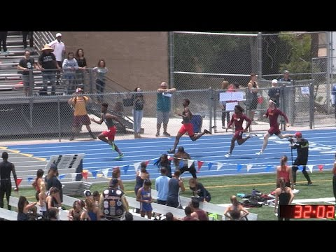 2017 TF - CIF-ss Prelims (D1) - 4x100 Relays (Men, 4 Heats) (04-D1)