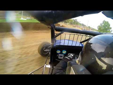 50k   MCSC 410 Non Wing Sprints Heat Race #3 Lincoln Park Speedway 8 18 18