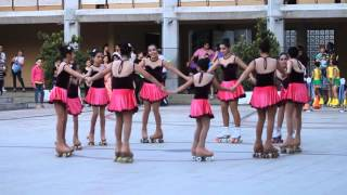"11   TALLER PATINAJE ARTÍSTICO - ""The romantic girls""  -   Clausura de Talleres 2015"