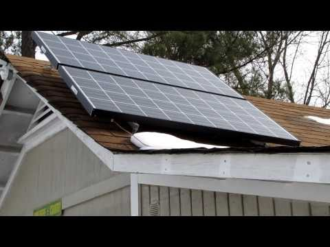 My Solar Power Back Up System For House & Shop OFF THE GRID The Beginning VIARLOCITY part 1