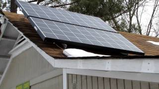 My Solar Power Back Up System For House & Shop OFF THE GRID The Beginning VIARLOCITY part 1(, 2010-02-04T19:23:35.000Z)
