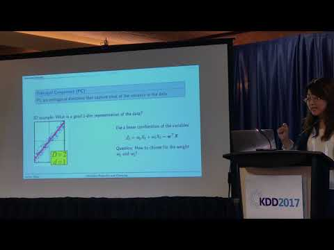 BPDM 2017 - Dimension Reduction and Clustering