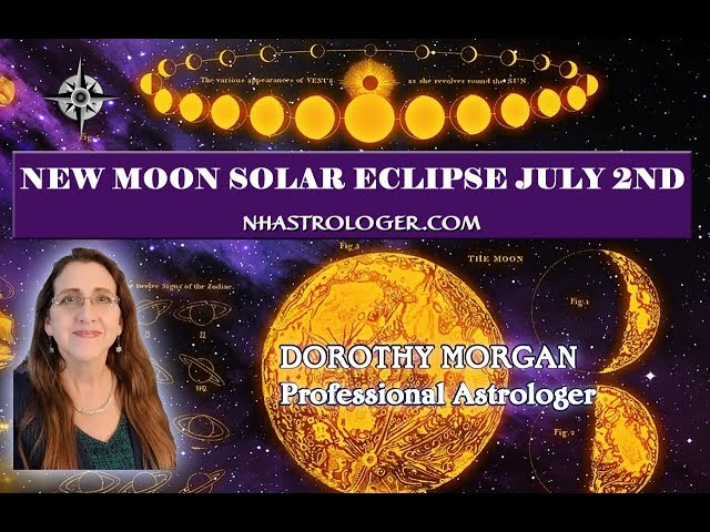 New Moon Solar Eclipse Cancer July 2, 2019 Getting comfortable with our emotions.