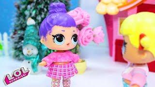 Новогодняя Вечеринка у девочек! | Мультик про Куклы ЛОЛ Сюрприз LOL Dolls