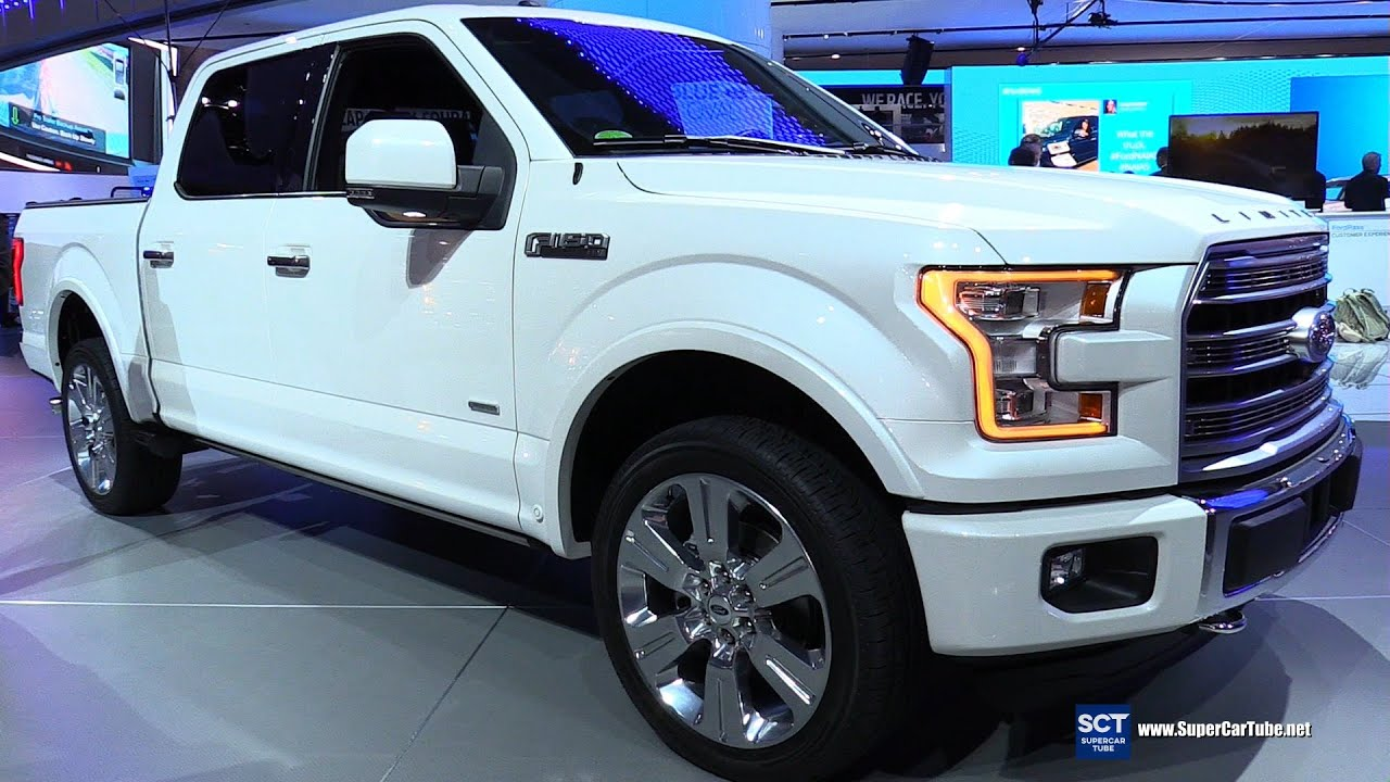 Model 2016 Ford F150 Limited  Exterior And Interior Walkaround  2016