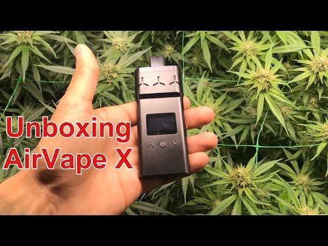 Unboxing Vaporisateur AirVape X