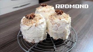 """Мультиварка REDMOND 250. Рецепты для мультиварки #25: Пирожные """"Белочка"""""""