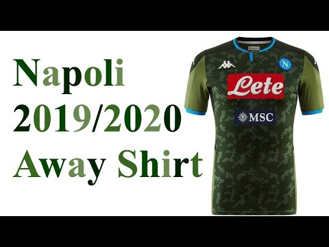 Napoli 2019/2020 Green Away Shirt