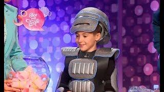 Новогодний костюм для детей из подручных средств