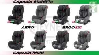 видео Купить Heyner Capsula Multi ERGO - цены на автокресло, отзывы, обзор и краш-тесты Heyner Capsula Multi ERGO